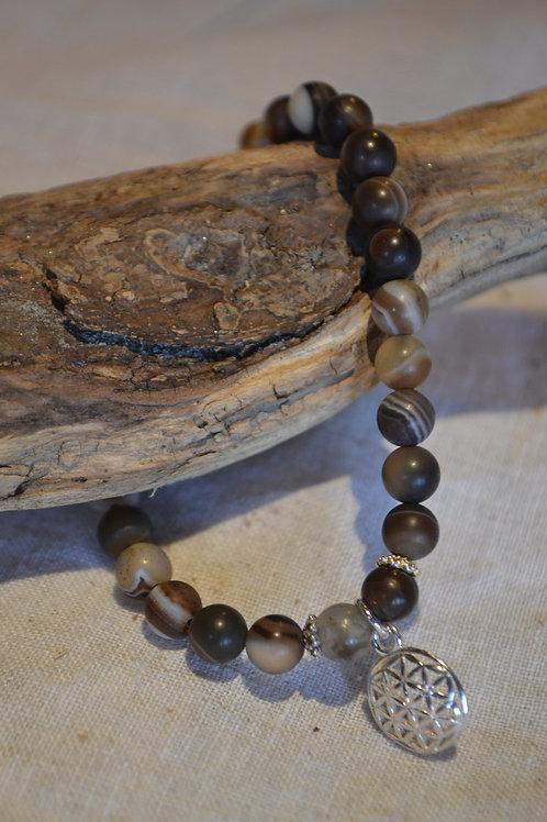 Armband aus Naturstein