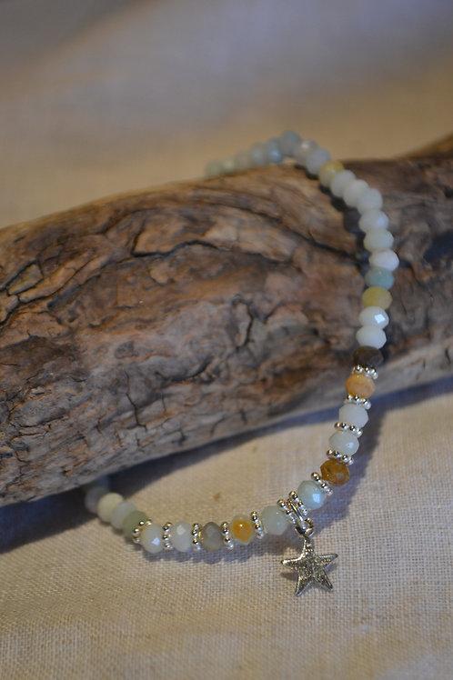 Armband aus Naturstein geschliffen