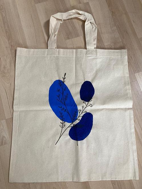 Stofftasche Blautöne