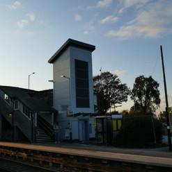 Meols Railway Station