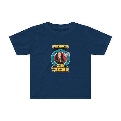 Vedder for President - Kids Tee