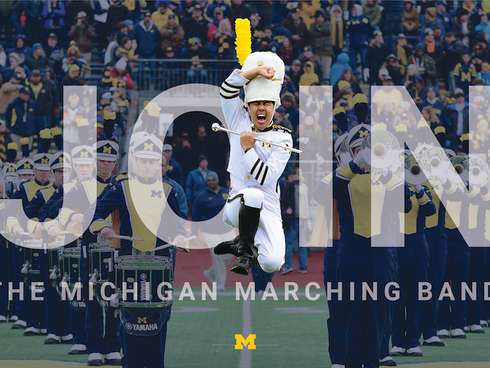 Michigan Marching Band Marketing