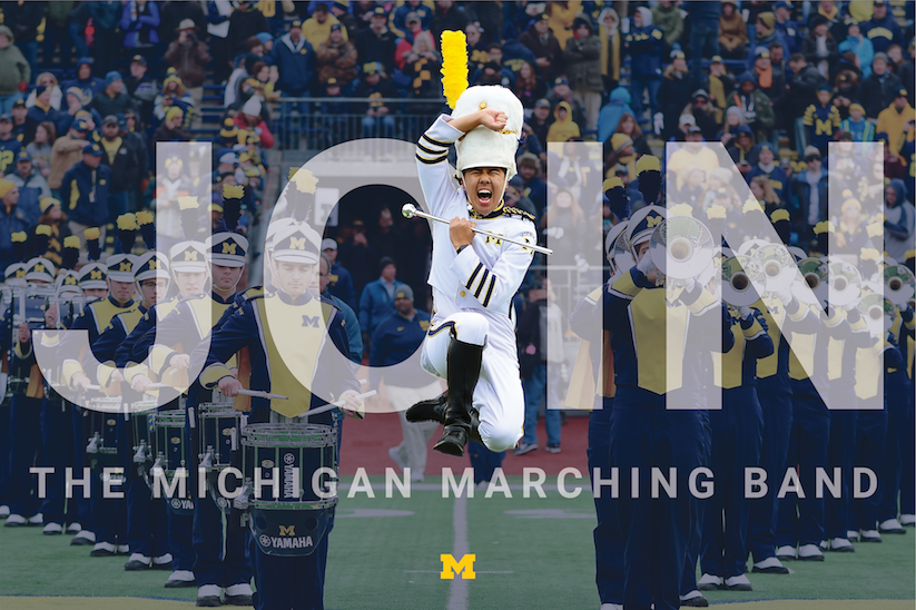 Michigan Marching Band Marketing
