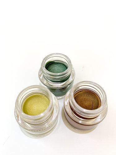 Handmade Color Eye Cream 手造色影眼霜 (Camouflage green 迷彩幻綠)
