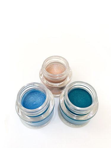 Handmade Color Eye Cream 手造色影眼霜 (Ocean blue  深海之藍)