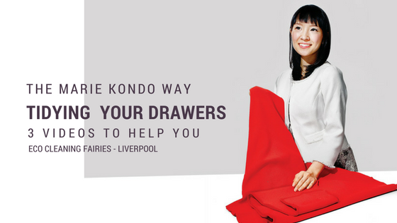 How to Tidy your Drawers with Marie Kondo