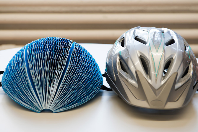 Great Ideas: An Eco-Friendly Paper Bicycle Helmet