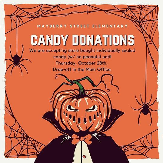 Orange Spider Vintage Horror Greeting  Generic Halloween Instagram Post.jpg