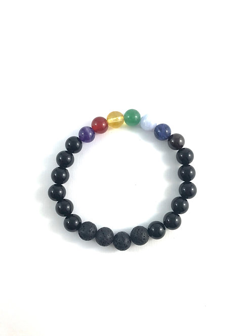 CHAKRA - Assorted Stones 8mm
