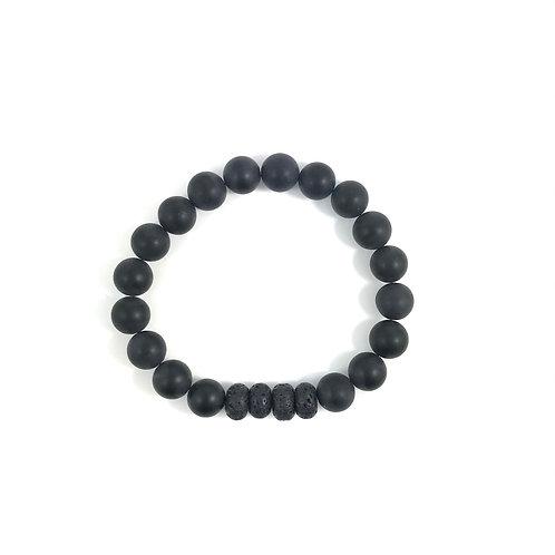 INNER WARRIOR - Black Onyx 10mm