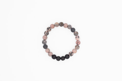 GRACE - Rhodonite  8mm
