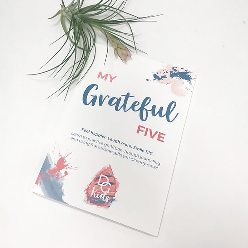 Gratitude Journal for Kids!
