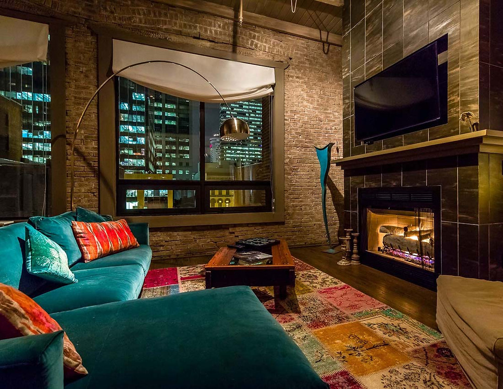 Downtown Lofts for bachelorette party in Nashville