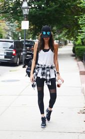 Flannel Athleisure outfit