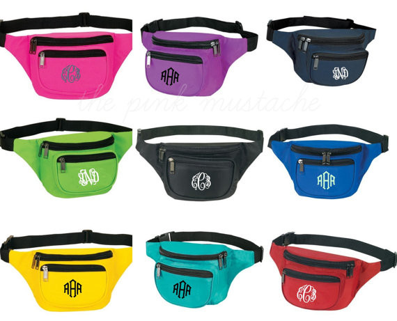 Monogrammed Fanny Pack