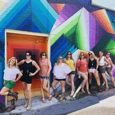 Bachelorette Mural Tour in Nashville
