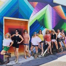 Bachelorette Mural Tour in Nashville