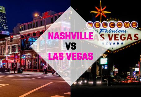 Nashville vs Vegas: Why Bride-to-be's prefer NASHVILLE