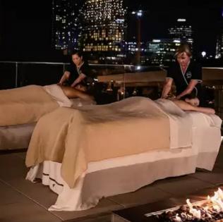 JW Marriott Nashville rooftop spa