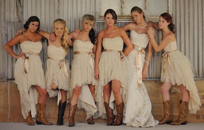 Southern Style Bridesmaids movie pose