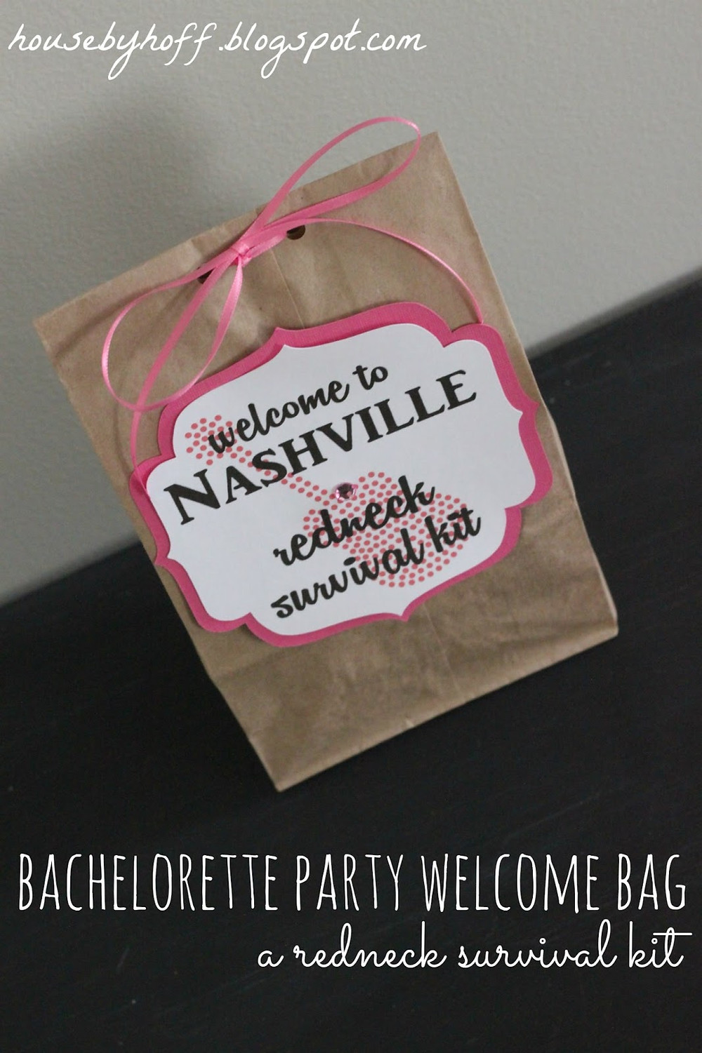 Nashville welcome bag