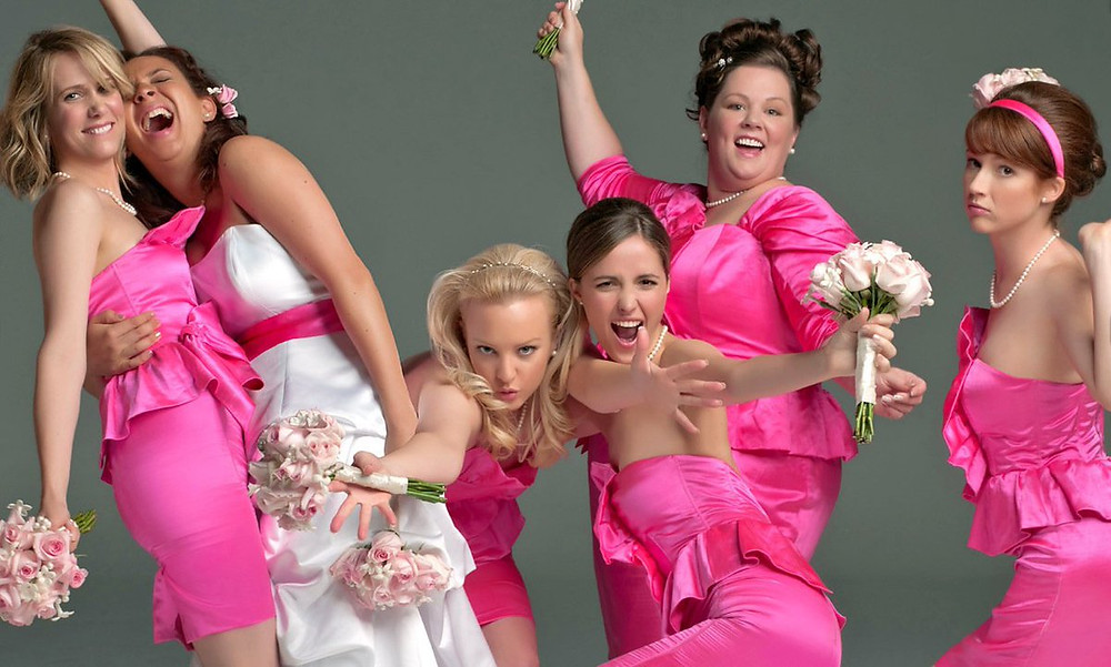 The movie Bridesmaids - released 2011