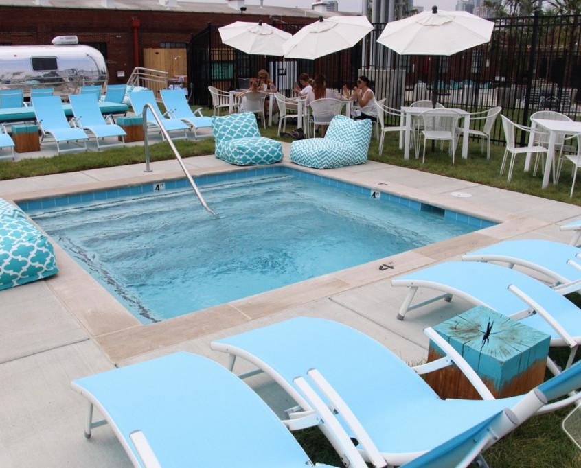 Pool at Pinewood Social