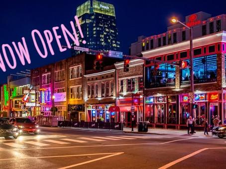Nashville bars and restaurants now open until midnight