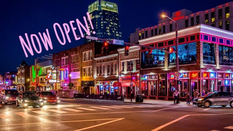 Nashville city lights