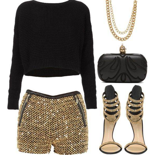 glamorous outfit