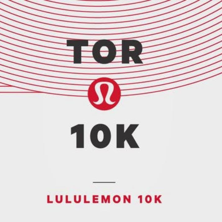 Lululemon Toronto 10KM - Meditation Cheer Station