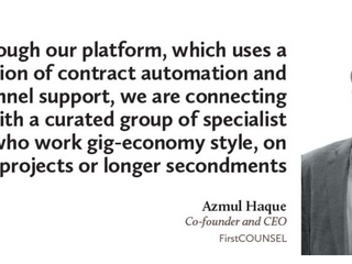 """Azmul Haque featured on Asia Business Law Journal """"Legal begets AI"""""""