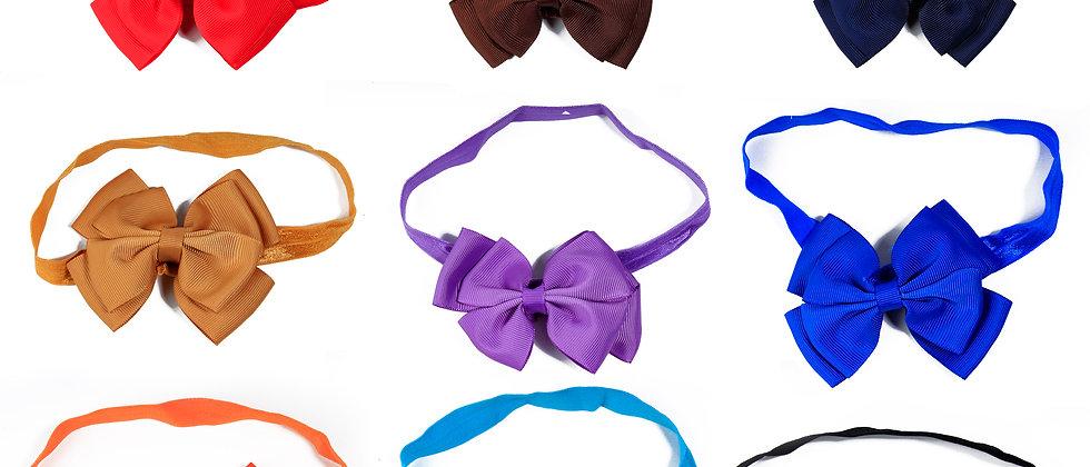 Set of Two Bowknot  Headband