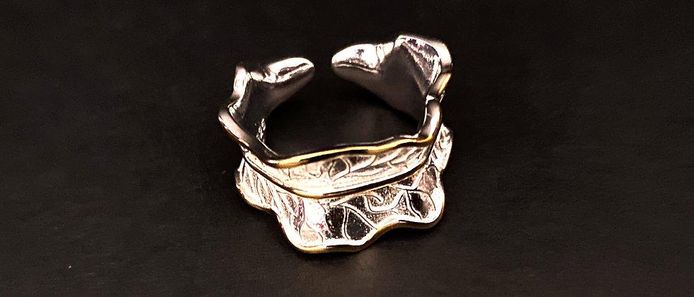 Adjustable Leaf Ring