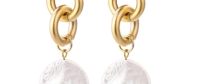 Grace Freshwater Pearl Earring