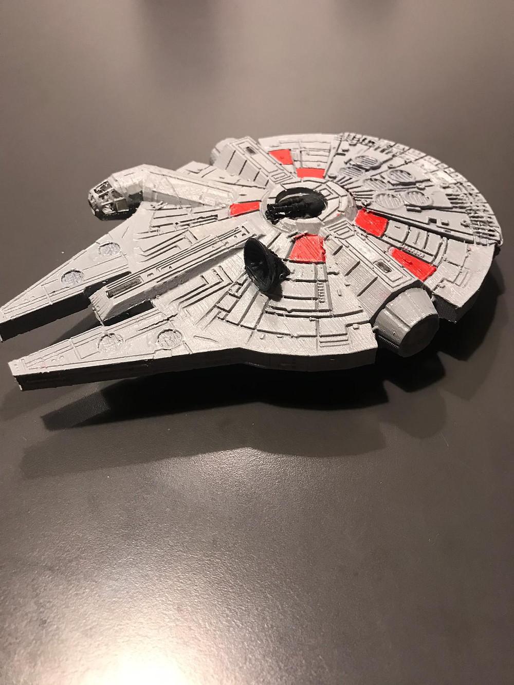 Millenium Falcon Stampa 3D!