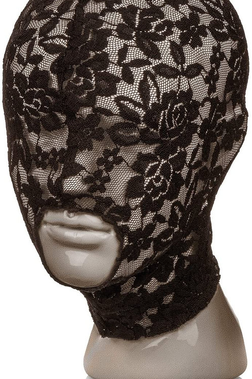 Open Mouth Lace Hood