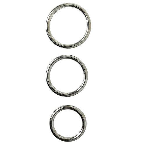Metal O-Ring 3 Pack