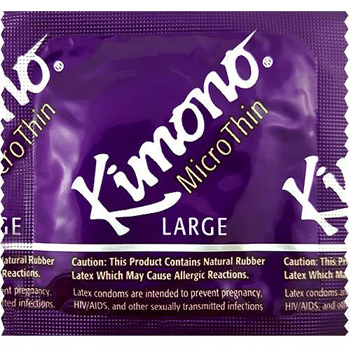 Kimono MicroThin Large Latex Condoms