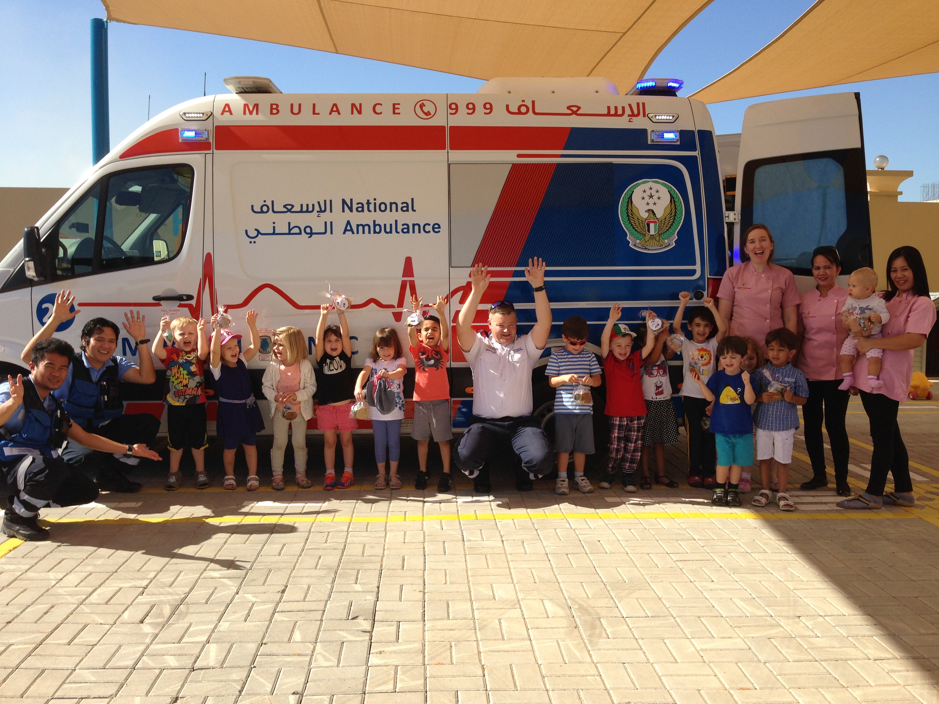 RAK Ambulance Visit