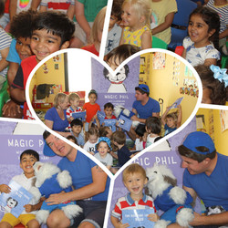 Magic Phil's book reading at Little Treasures