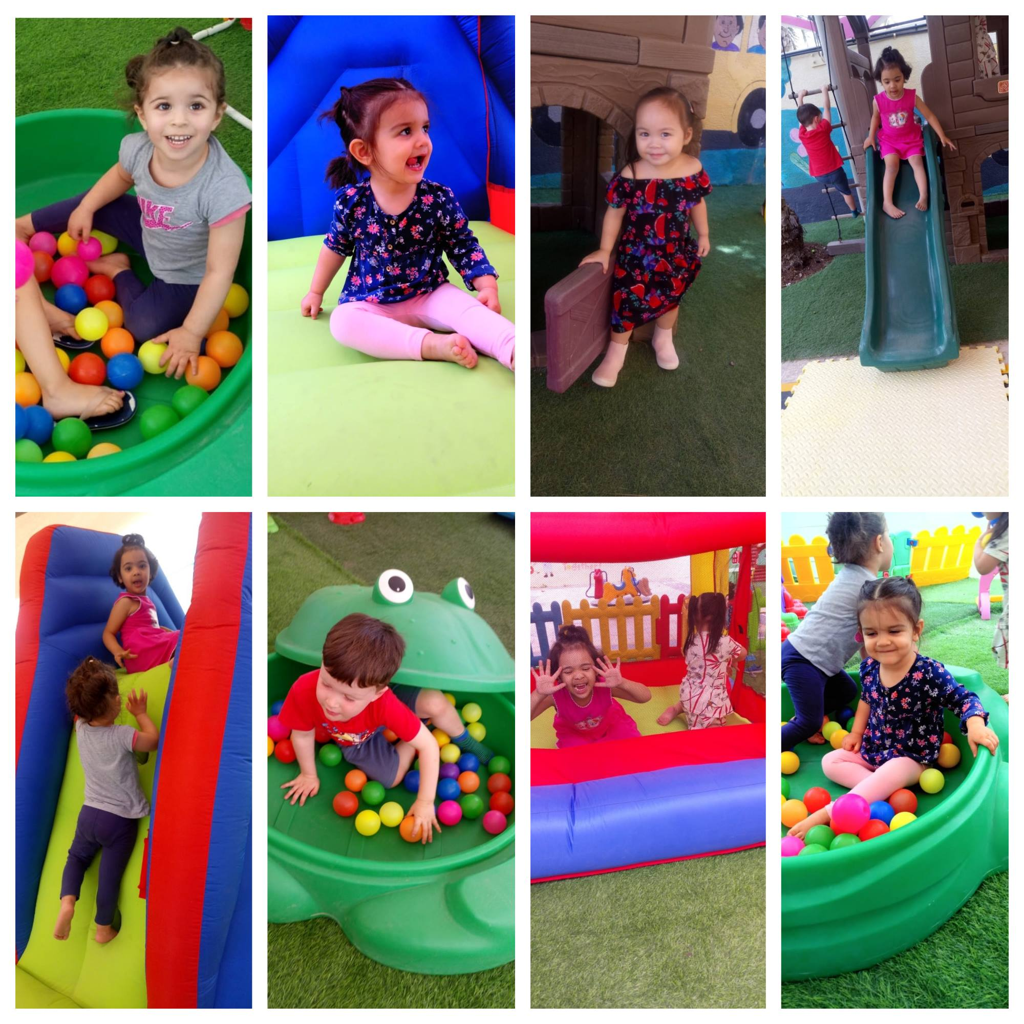 Afternoon Fun at our Khuzam branch!