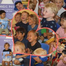 Magic Phil visits Little Treasures Nursery