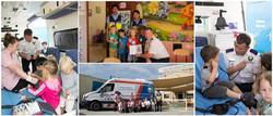 National Ambulance visits LT's
