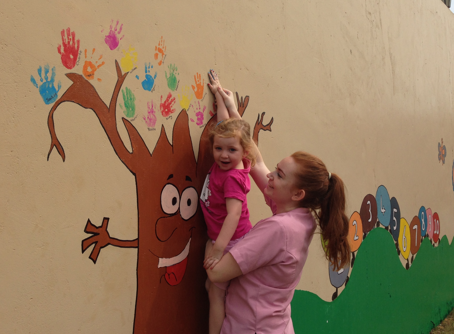 Our Handprint Memory Tree