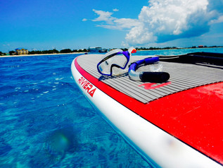 snorkeling off your board