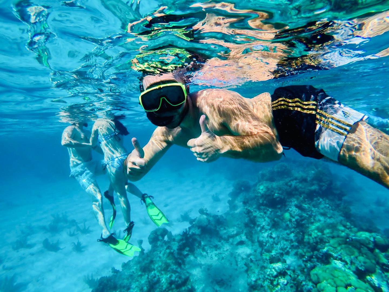 snorkeling at cemetery reef