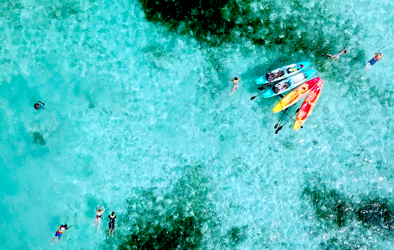 overhead kayak