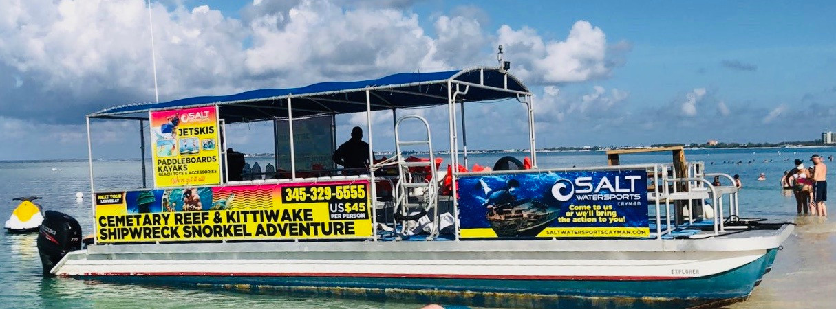 salt snorkel boat