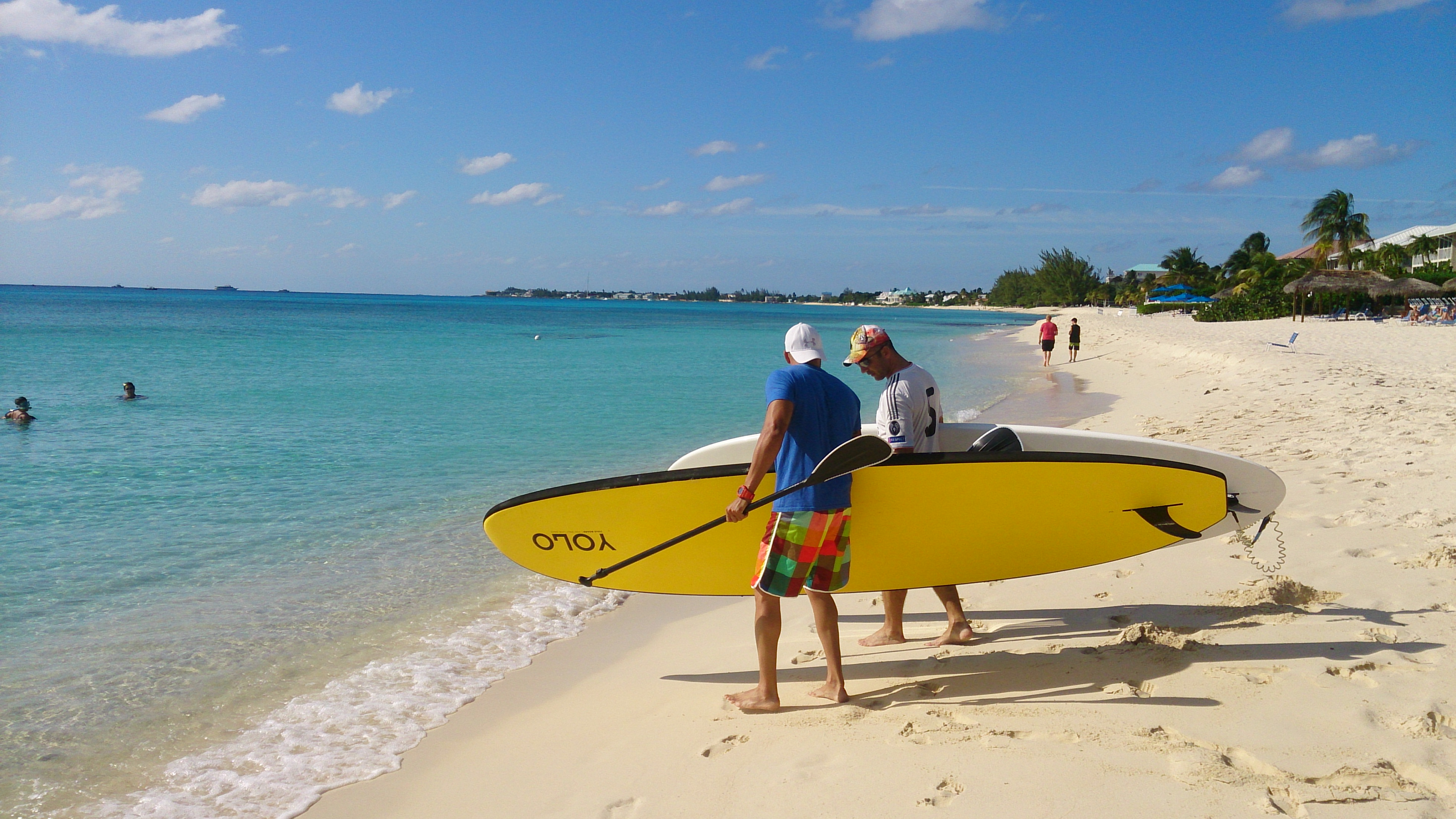 Lessons and Tours SUP Cayman Islands